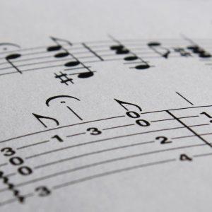 transcription musicale relevé partition arrangement guitare tablature