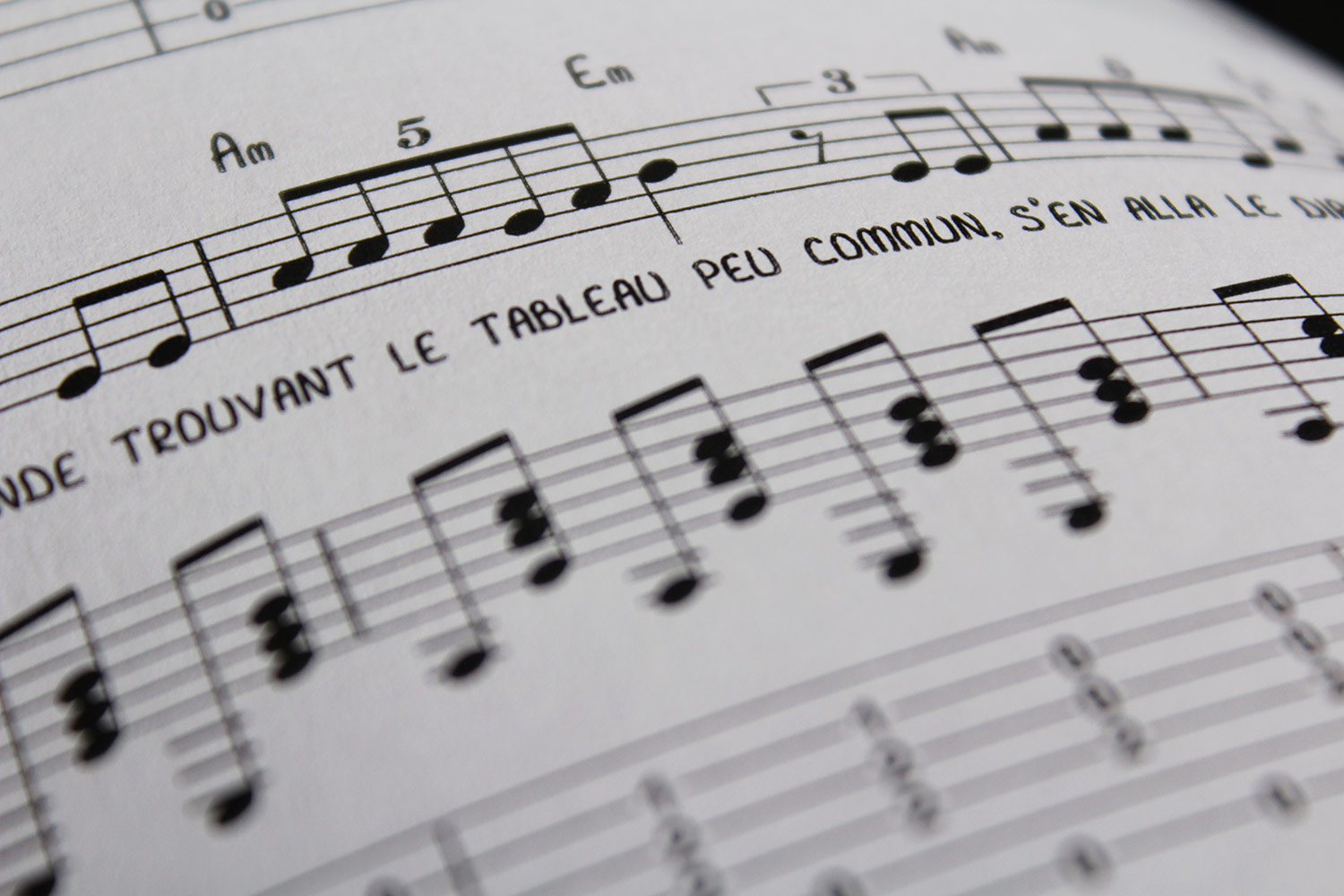 transcription musicale