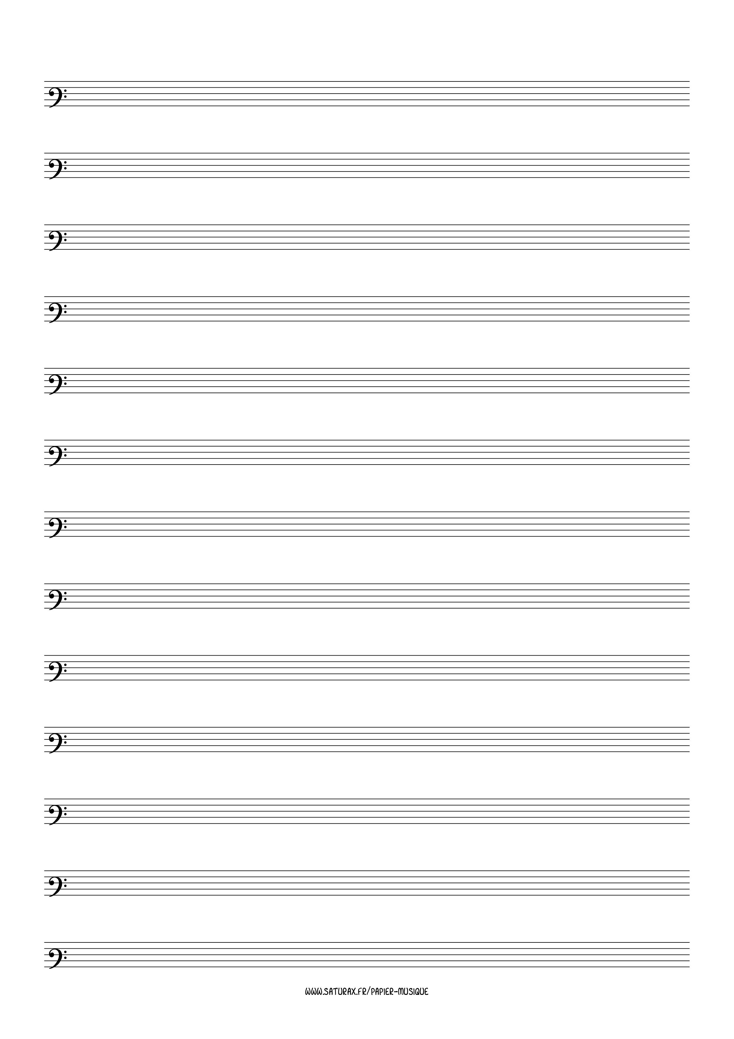 papier musique gratuit download pdf clé clef fa 3
