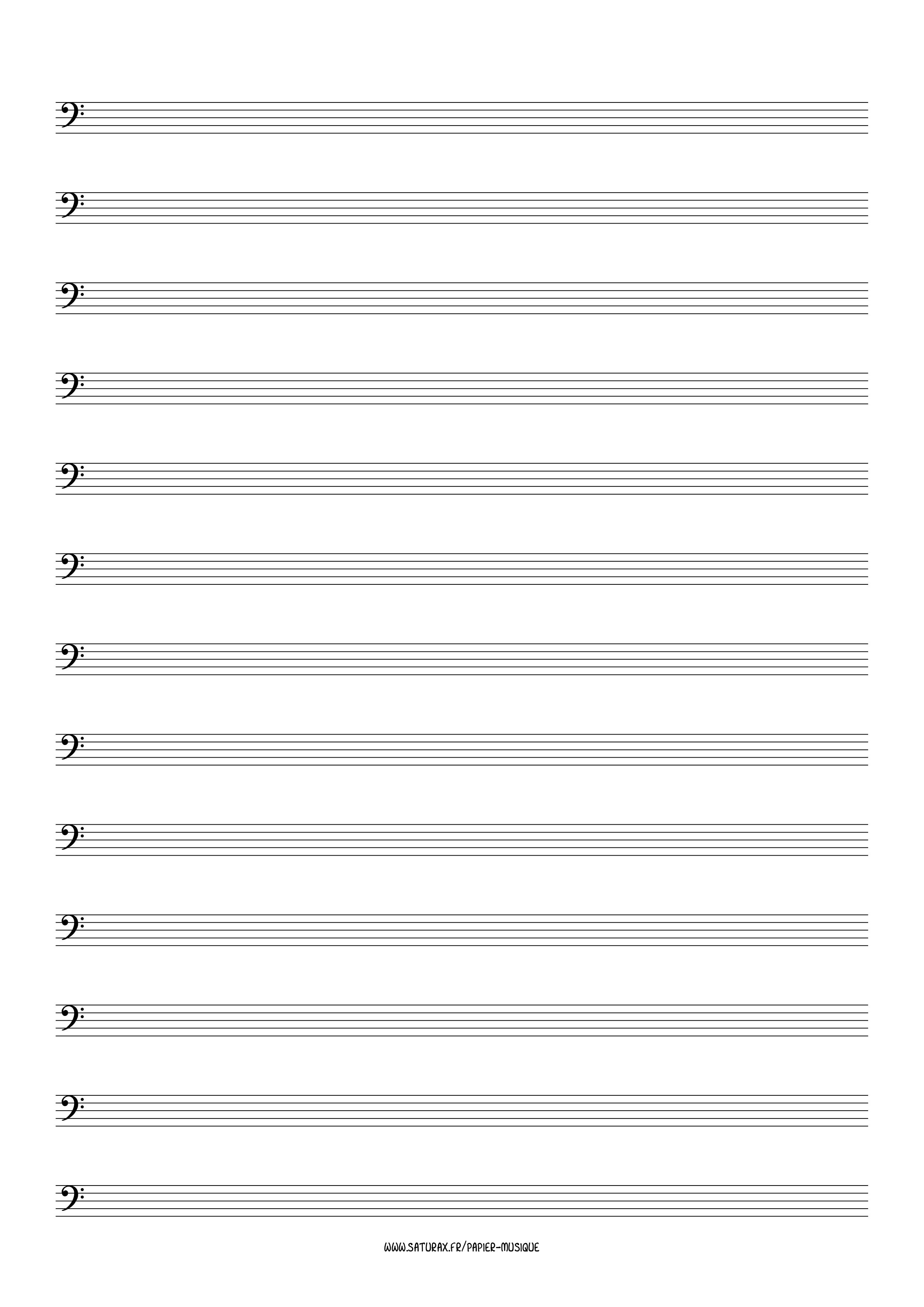 papier musique gratuit download pdf clé clef fa 4