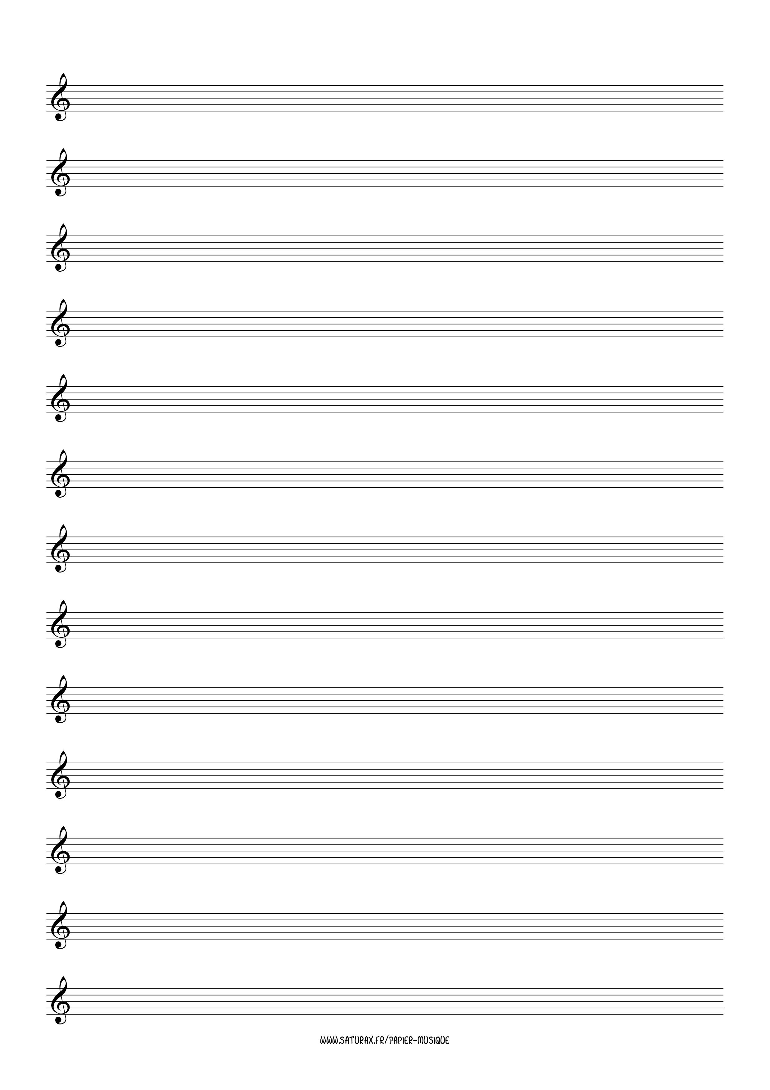 papier musique gratuit download pdf clé clef sol 2
