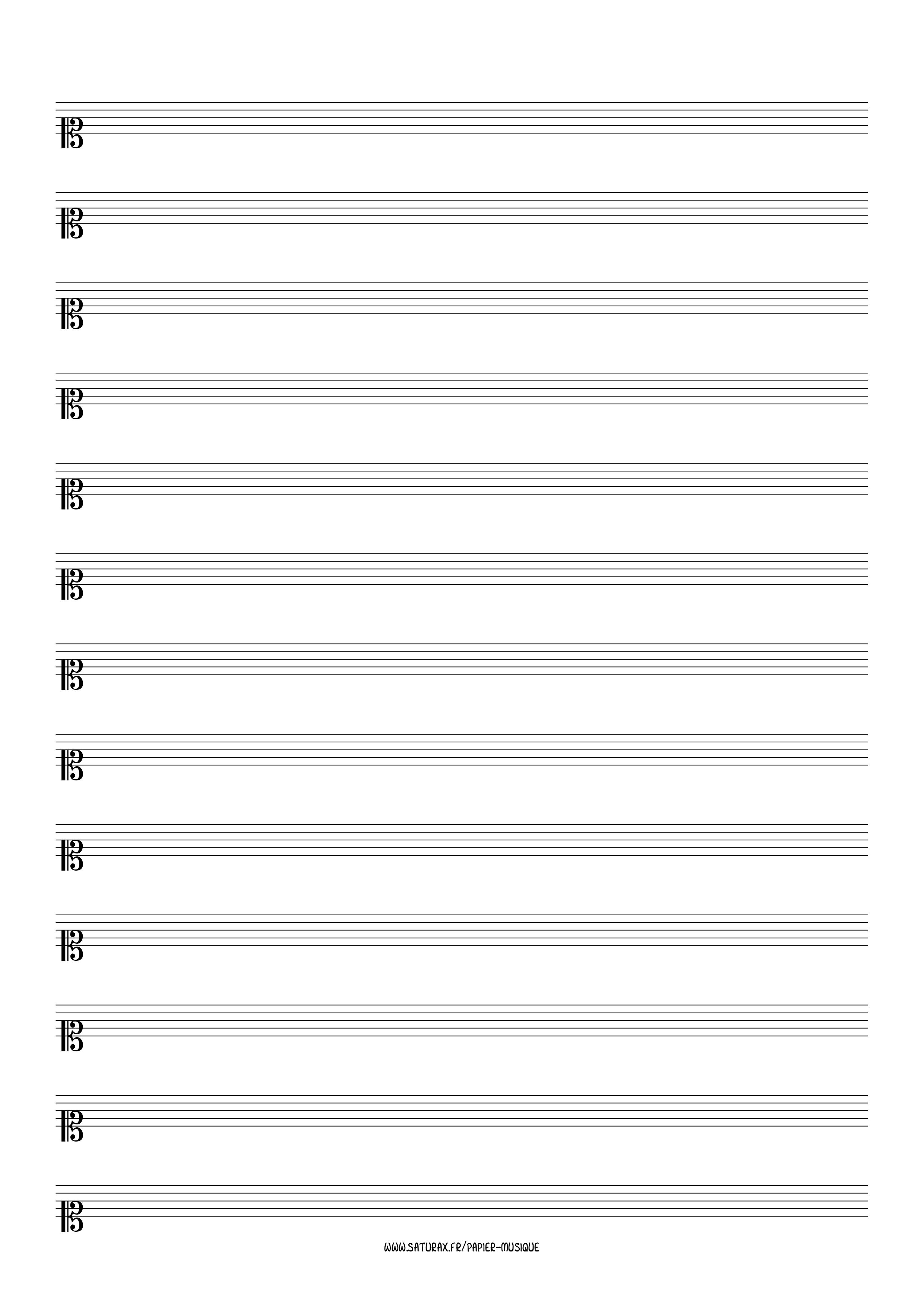 papier musique gratuit download pdf clé clef ut 1