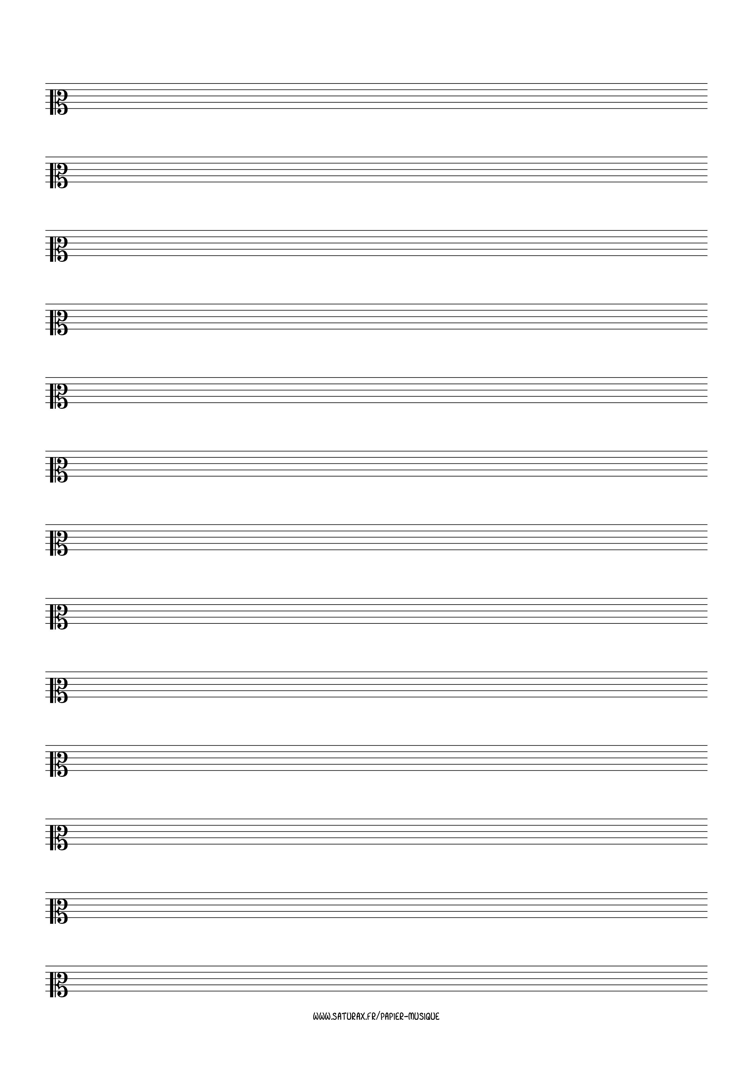 papier musique gratuit download pdf clé clef ut 2