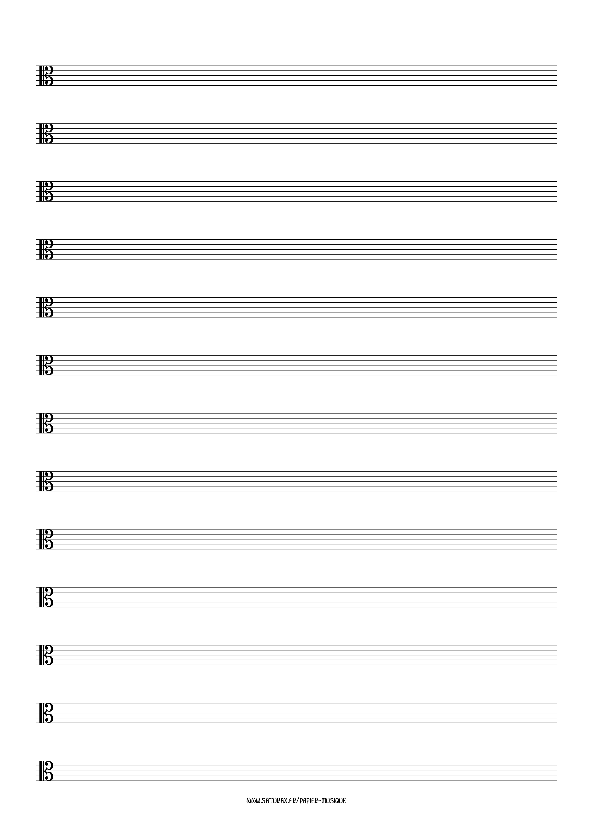 papier musique gratuit download pdf clé clef ut 3