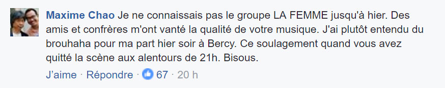 commentaire facebook rhcp