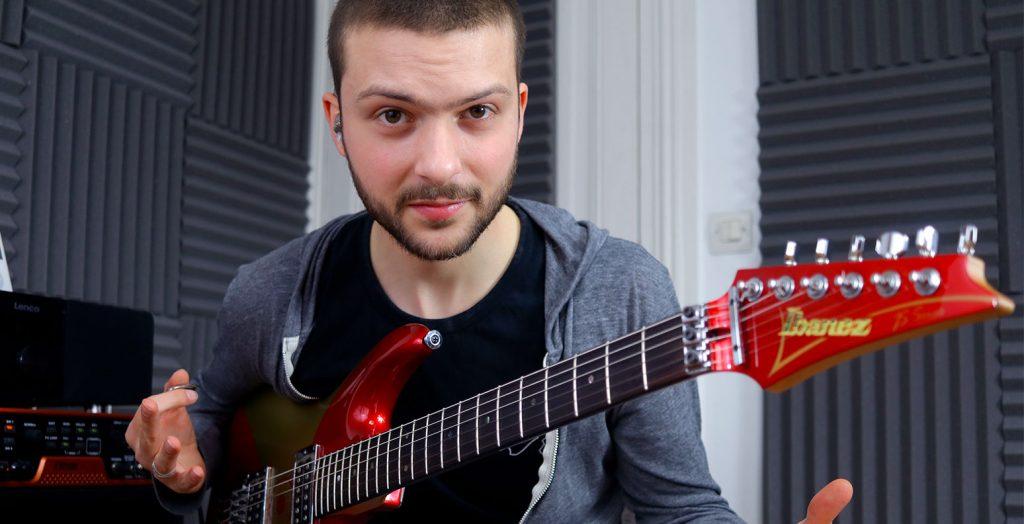 masterclass cours notes du manche guitare saturax robin angelini