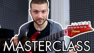 masterclass saturax notes du manche guitare cours