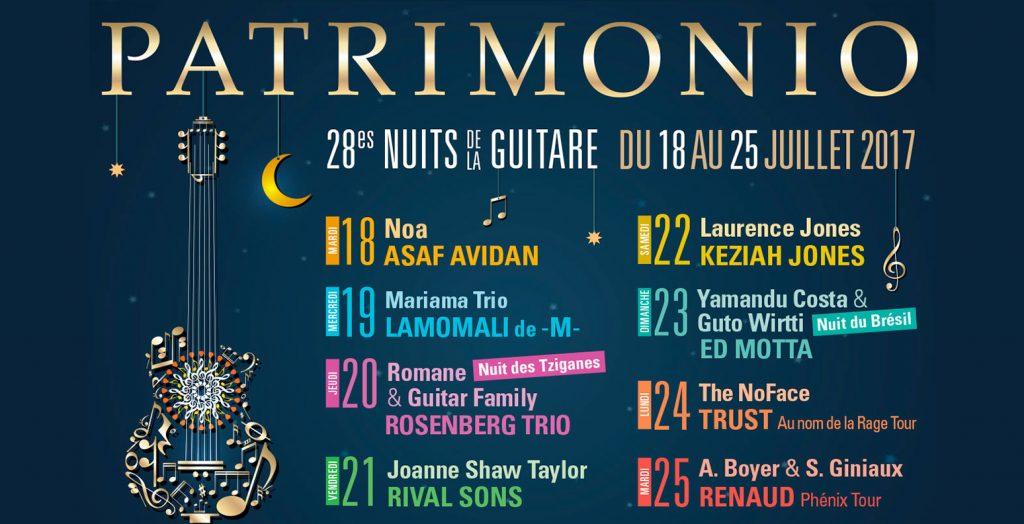 festival patrimonio corse 2017 nuits de la guitare saturax