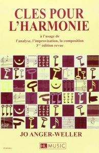 clés pour l'harmonie jo anger weller livres de musique