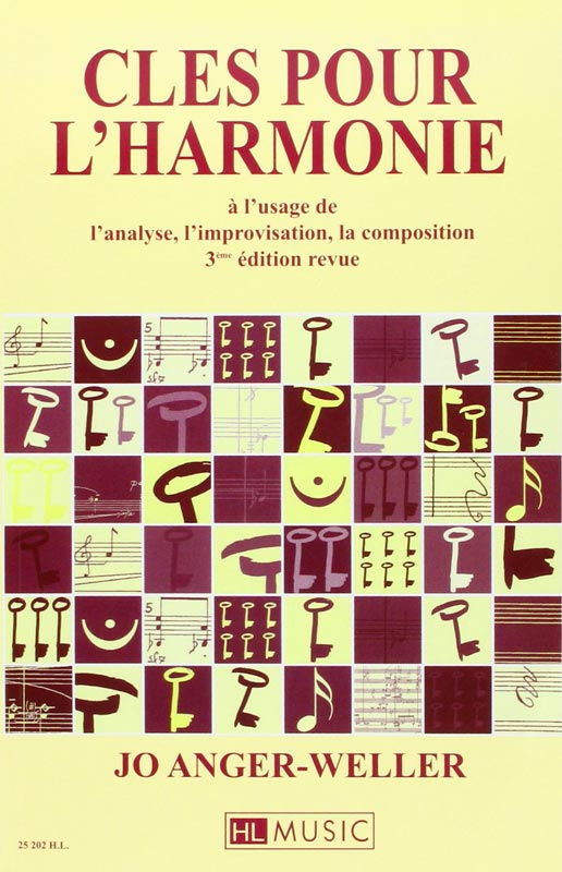 clés pour l'harmonie jo anger weller livre de musique