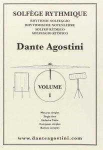 methode dante agostini solfege rythmique volume 1 livres de musique