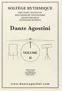 livres de musique methode dante agostini solfege rythmique volume 2