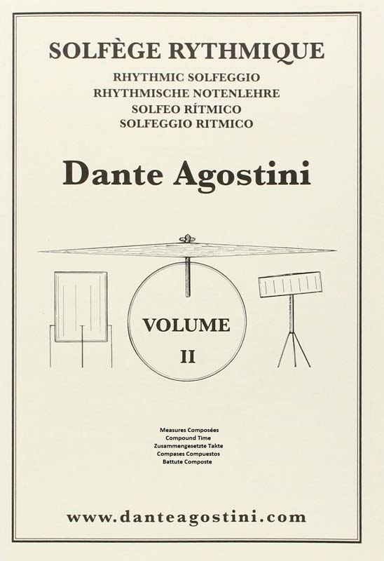 methode dante agostini solfege rythmique volume 2 livres de musique