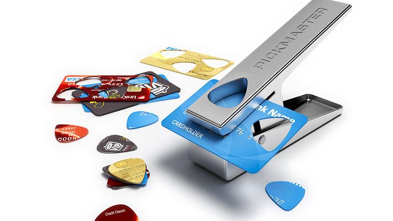 accessoires guitare cadeau pickmaster mediator