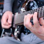 backing track gratuit d dm ré mineur hard rock guitare électrique