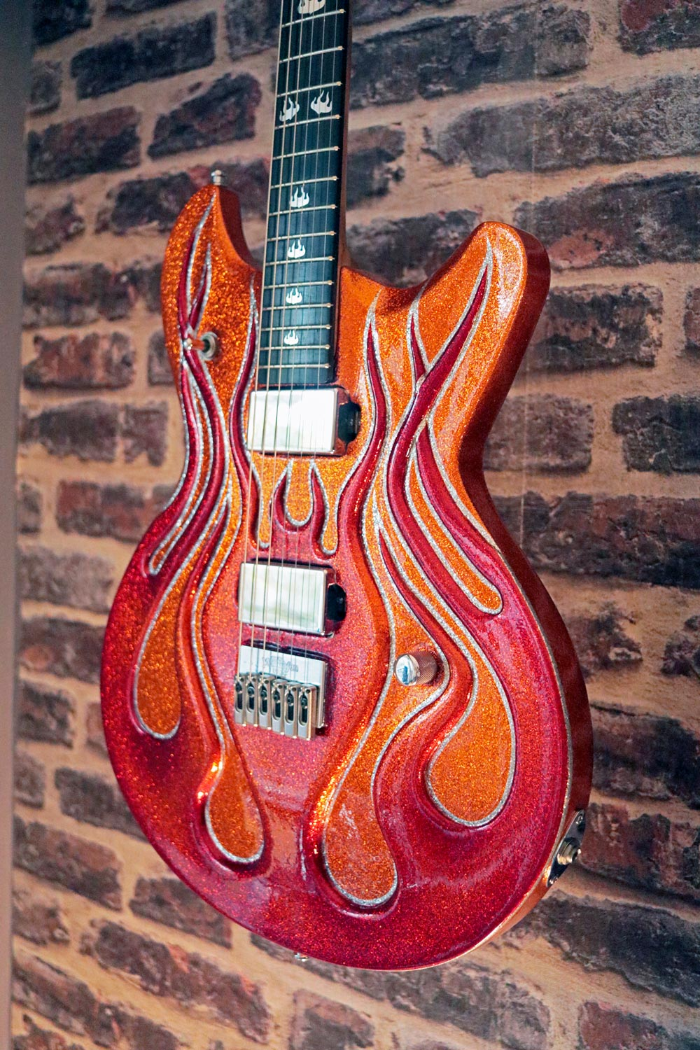 boutique guitar showcase mcswain flammes