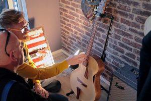 boutique guitar showcase mike sankey archtop