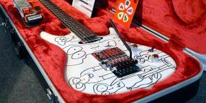test guitare materiel musique saturax
