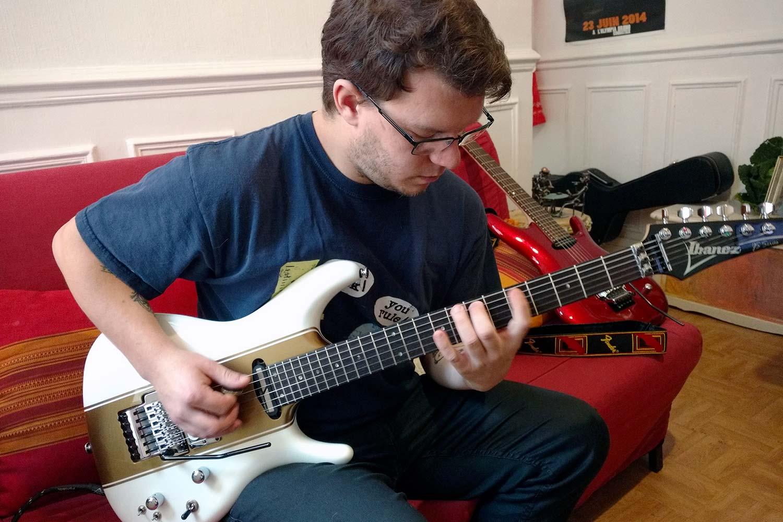 cours de guitare saturax florian