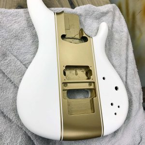 ibanez js racing stripes peinture gold