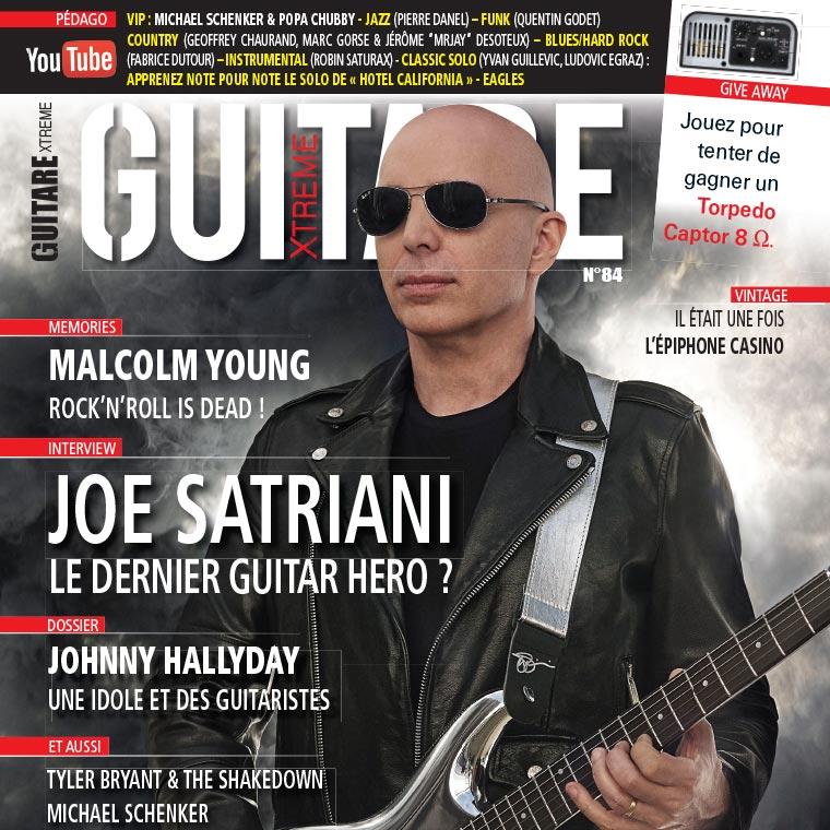 guitare xtreme magazine saturax satriani