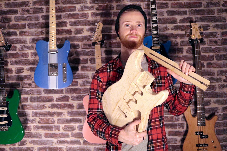 guillaume gauny luthier eagletone custom shop woodbrass