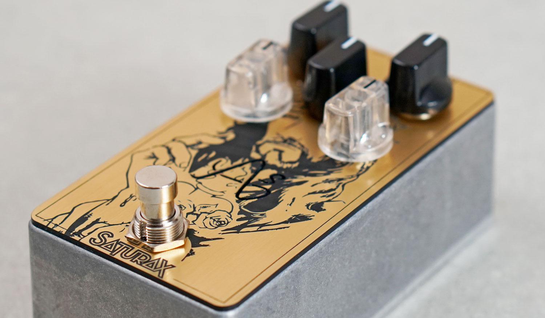 saturax pedale effet anasounds custom