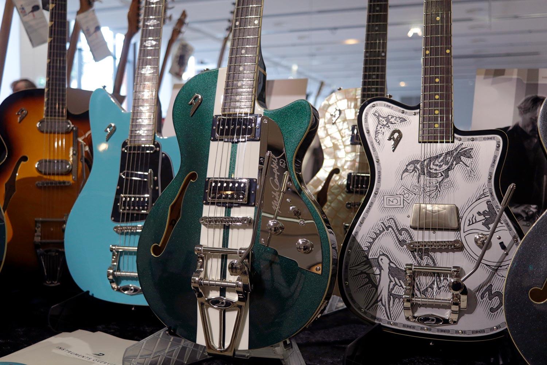 duesenberg racing vert guitares au beffroi