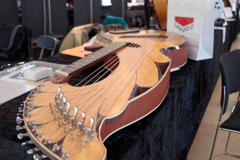 guitare harpe bms guitars