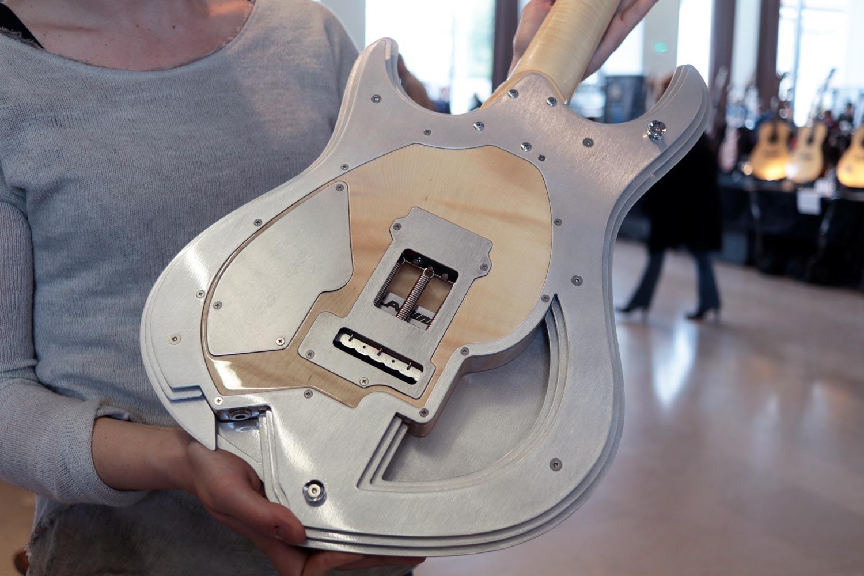 lamina guitare electrique lamelle