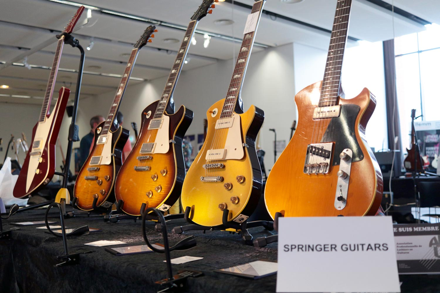 springer guitars electrique