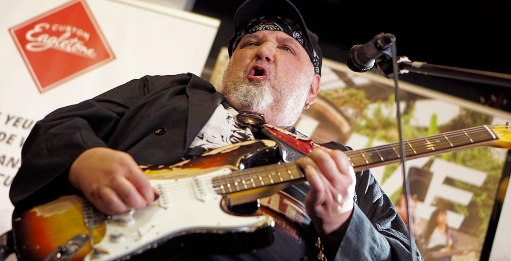 interview popa chubby eagletone custom saturax
