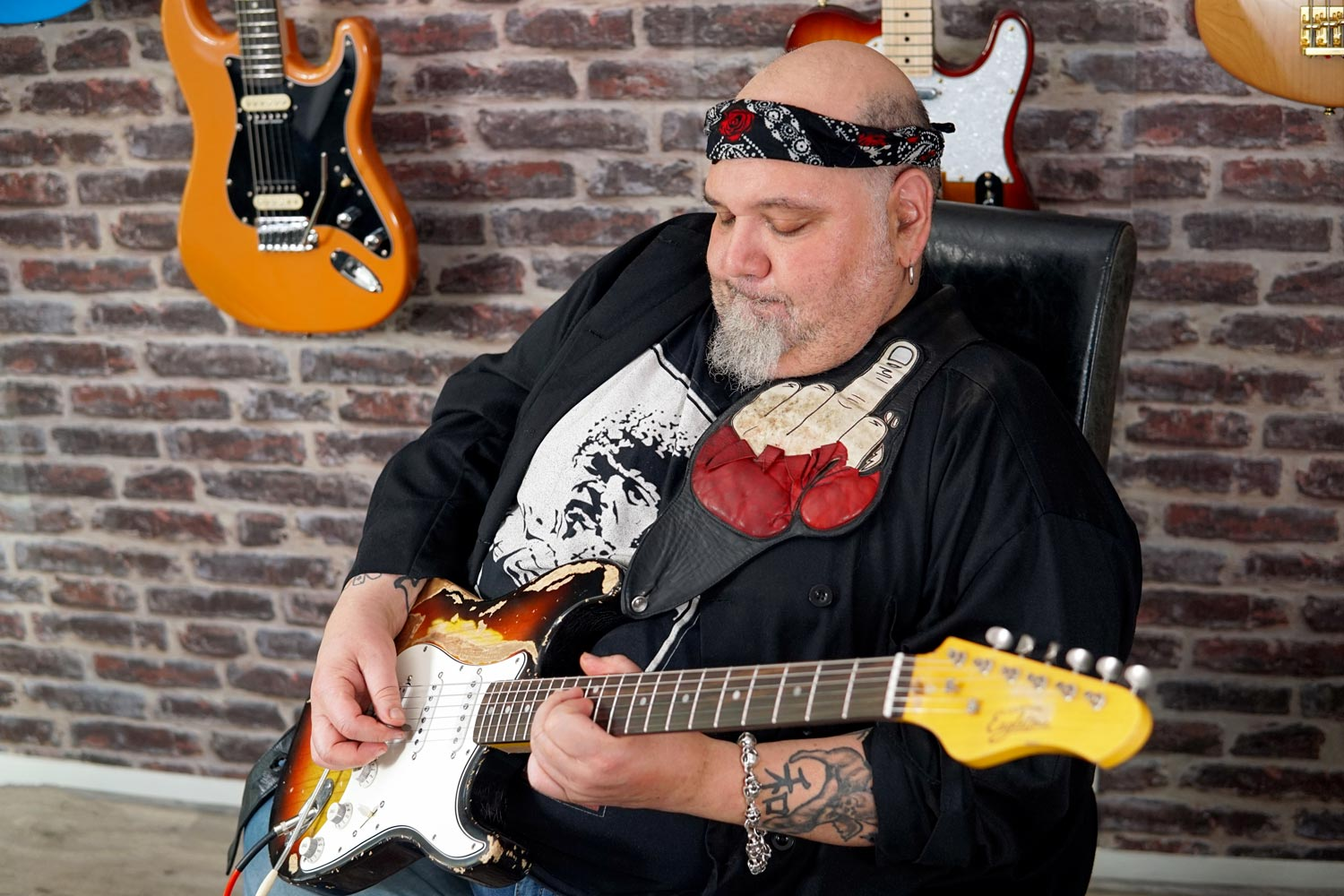 popa chubby woodbrass deluxe interview