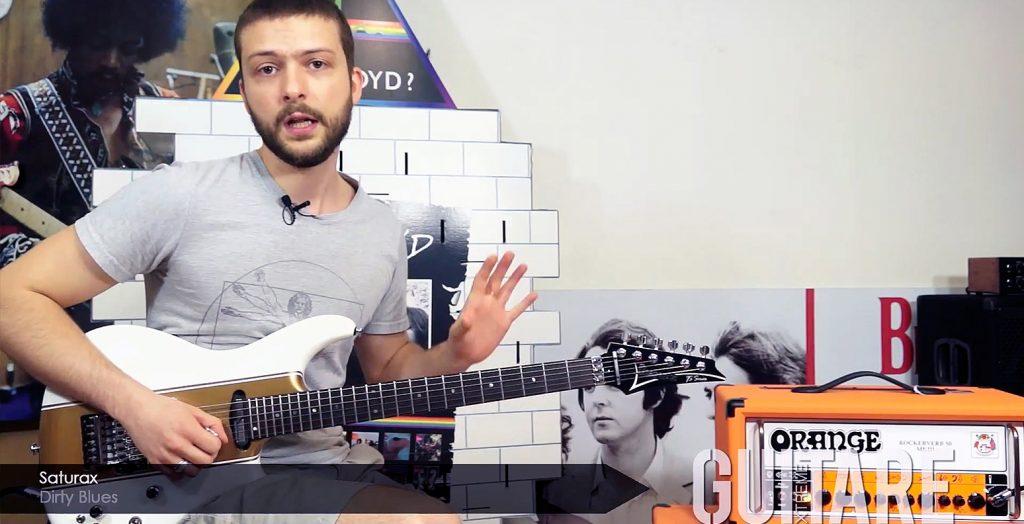 guitare xtreme 87 magazine saturax dirty blues