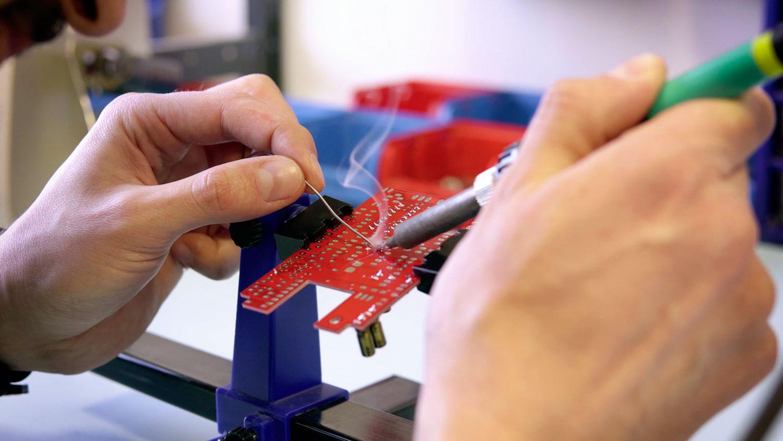 circuit imprime soudure pcb