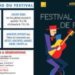 Showcase au Festival Guitare de Puteaux 2018