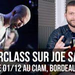 Masterclass sur Joe Satriani au CIAM à Bordeaux, avec Pascal Vigné & Saturax