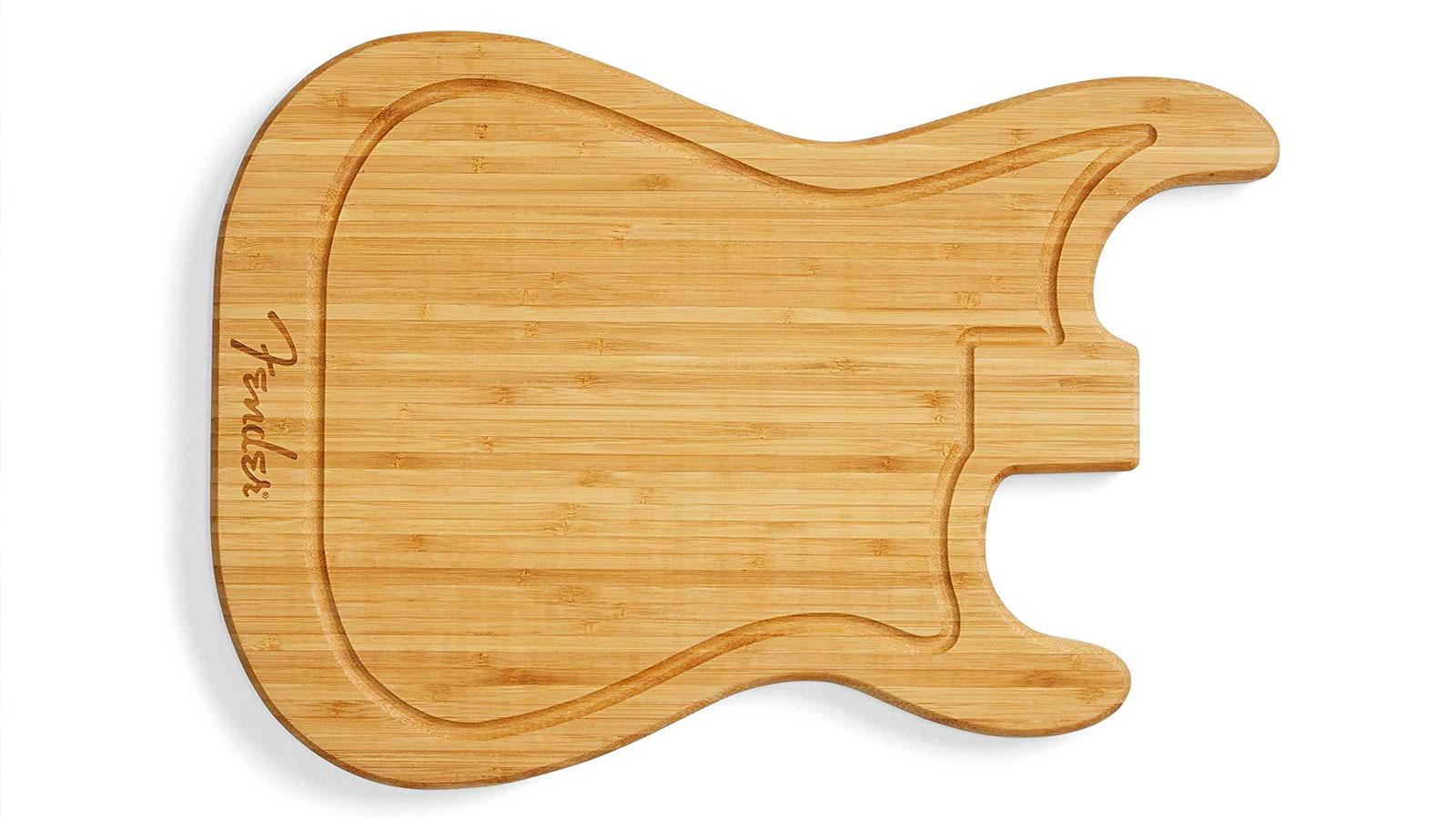 planche decouper fender guitare