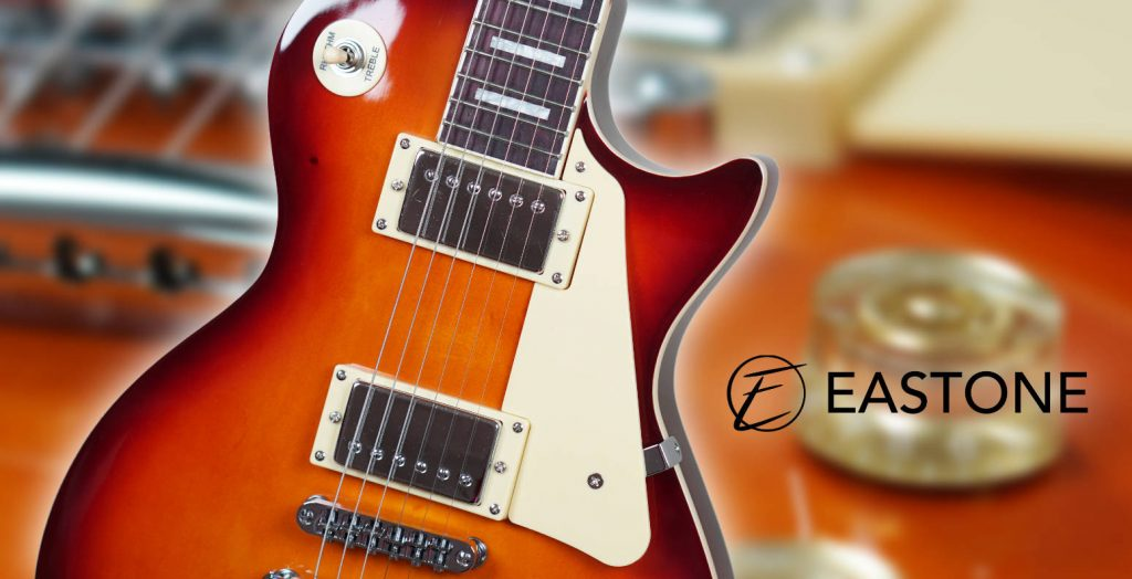 test guitare eastone lp100